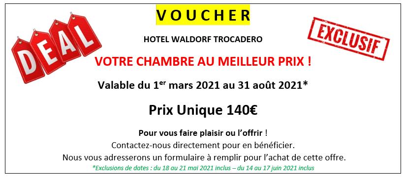 Découvrez l'offre Saint-Valentin de l'hôtel Waldorf.
