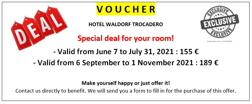 Voucher : Special deal for your room